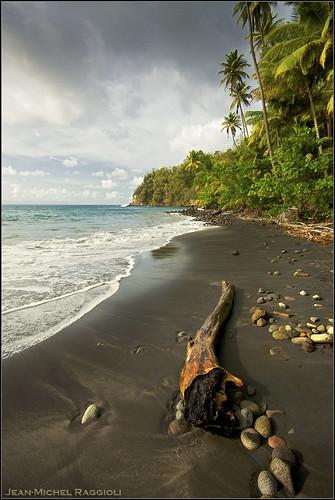 seascape beach martinique caribbean