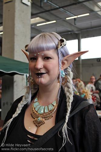 Belinda is an elf!