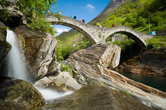 Leica M9 & Super-Elmar-M 1:3.4/21 Asph. @ Ponte dei Salti . Valle Verzasca