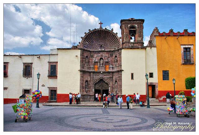 San Miguel Allende. Mexico. Templo de Nuestra Señora de la Salud.