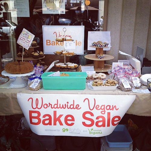 Vegan Bake Sale at @mundovegannj today
