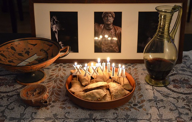 Laterculi (Poppy-seed Cakes) - Happy 1939th birthday, Hadrian!