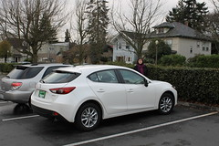 automobile, automotive exterior, family car, vehicle, automotive design, mazda, mazda3, mid-size car, land vehicle,