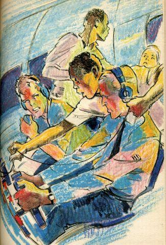 Les six compagnons et les espions du ciel, by Paul-Jacques BONZON