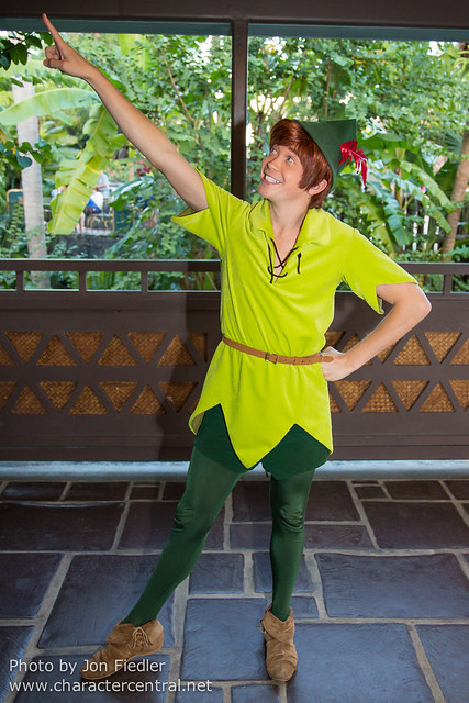 WDW Dec 2014 - Meeting Peter Pan