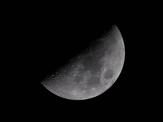 The First Quarter Moon