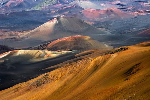 mountain landscape volcano hawaii maui craters flickrchallengegroup flickrchallengewinner