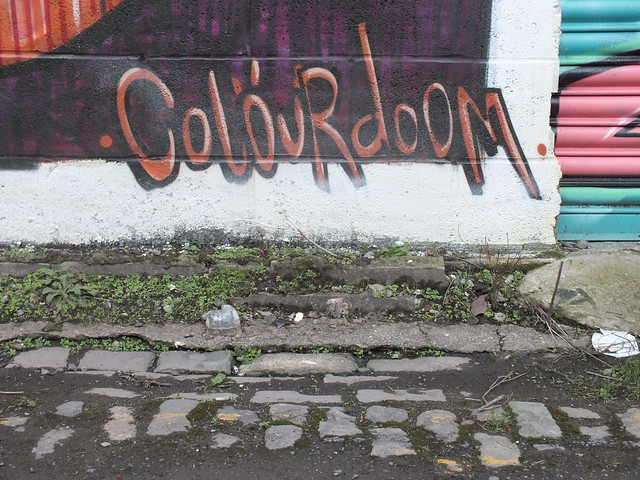 Kera and Colourdoomed street art