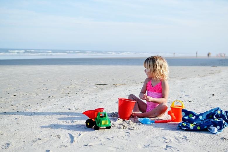 Vacation on New Smyrna Beach, Florida.