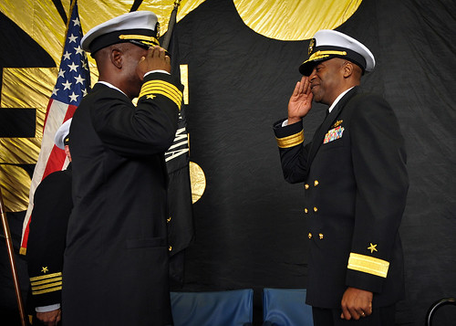 PHIBRON 1 Holds Change of Command Ceremony