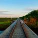 Small photo of Northbound Railroad Near Krome