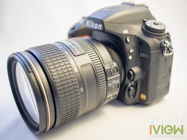 The Nikon 24-120mm lens as kit for the D750