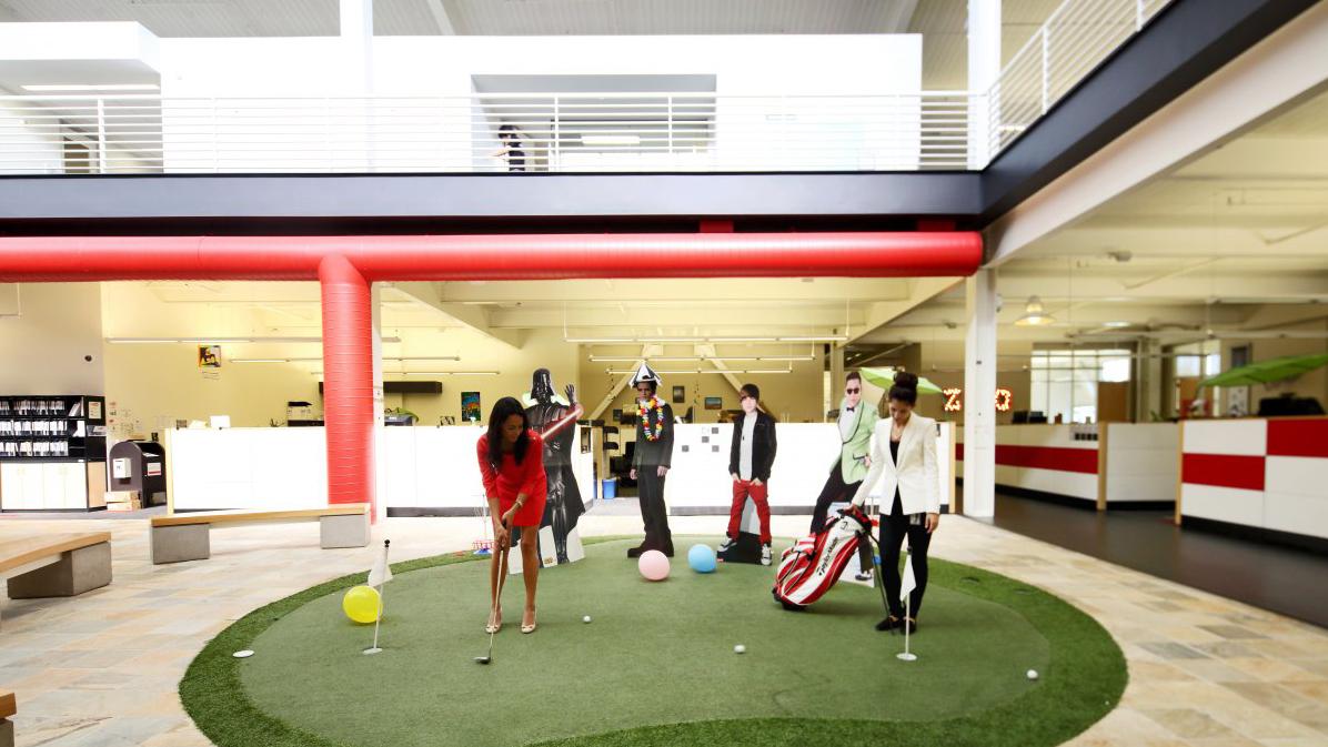 Youtube-Golfplatz