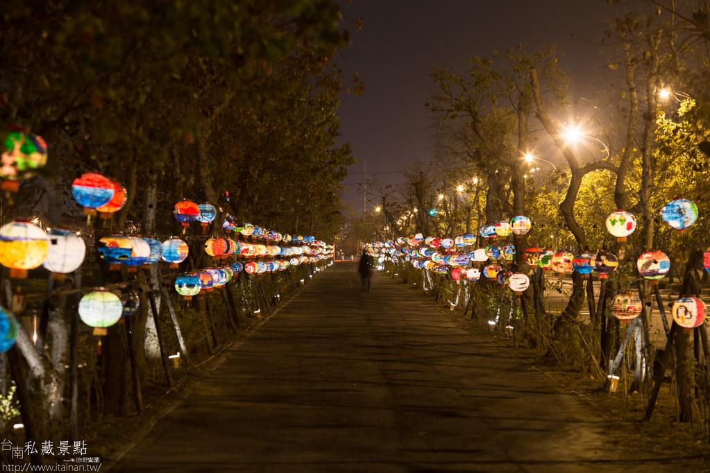 台南私藏景點-點亮台江 2015 山海圳綠道燈會 (6)
