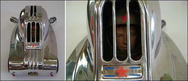 Hot Rod Assemblage Sculpture : Teardrop