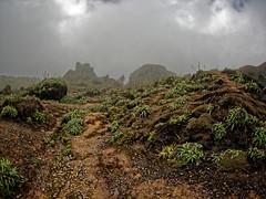 La Porte d'Enfer et la Guenon depuis le Piton Dolomieu