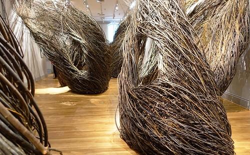 """""""Shindig"""" (2015) by Patrick Dougherty at Renwick Gallery, Washington, D.C."""