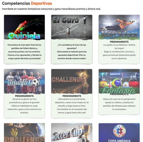 competencias en triunfador.net