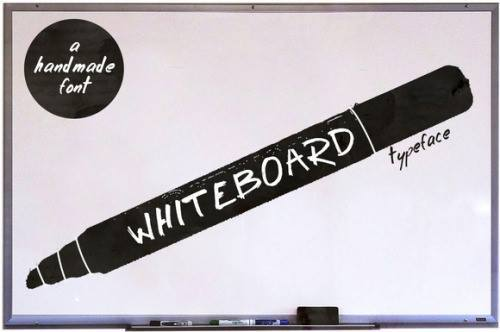 Whiteboard Free Font (Limited) by amaarawhite(via Deour -... http://bit.ly/1Q8ttVK http://bit.ly/1UXx1pz