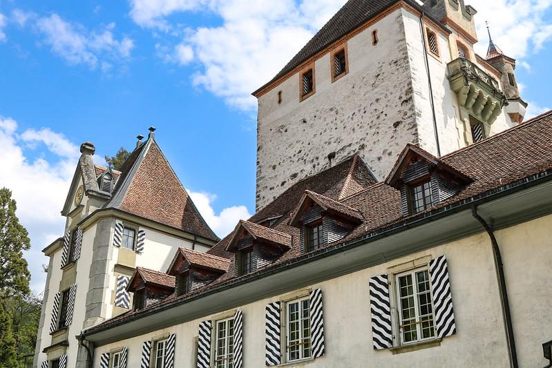 Spiez and Oberhofen castles, Interlaken
