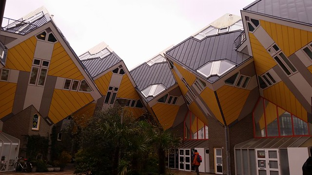 Cube houses in Roterdam