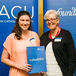 ACUscholarship2016-178 Rachael and Prof. Karen Flowers
