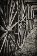 "Week 26 of 52 - Theme: ""Rule of Odds"" Handcart Wheels to Zion"