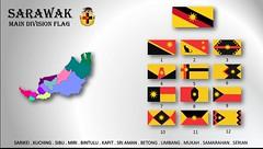 Sarawak Divisional  Flag