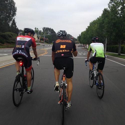 VeloNutz Dawn Patrol 🚴. Eight in the morning. Can we get to ten? #dawnpatrol #velonutz #bikelife