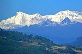 Himalaya-Berge in Bhutan.