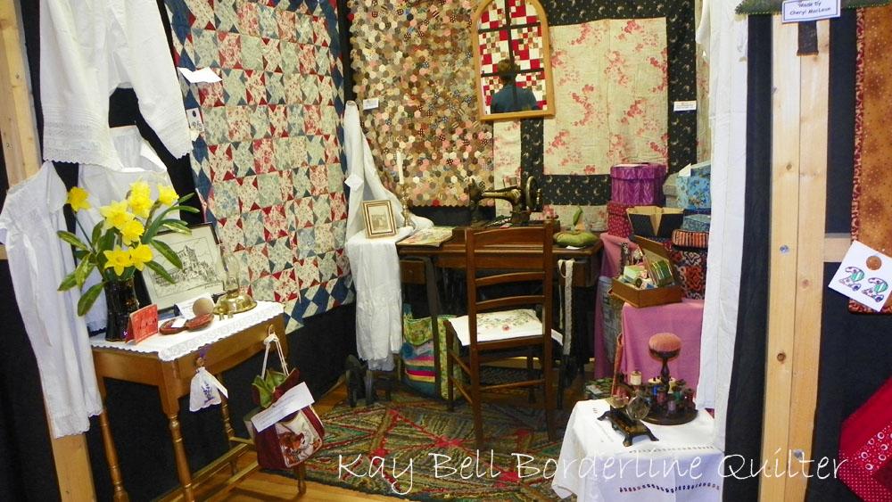 Vintage room display
