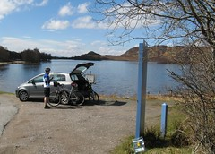 Bookcrossing at Loch Tarff