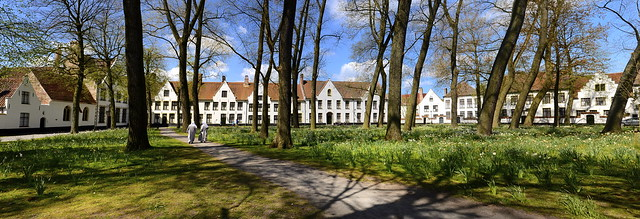 The Begijnhof (Beguinage) in Bruges, Belgium