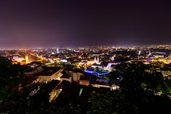 Graz - panoramic view from Schloßberg