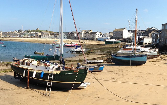 Low tide on Town Beach, St Mary's, Scilly