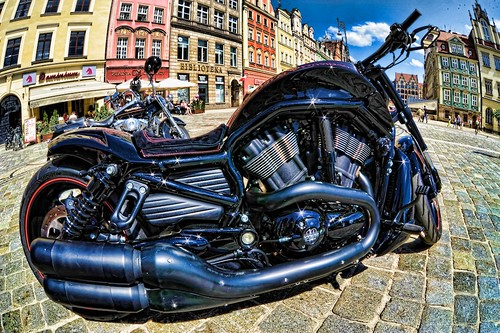 Harley Davidson Super Rally 2013 Wrocław, Poland by ssserpent