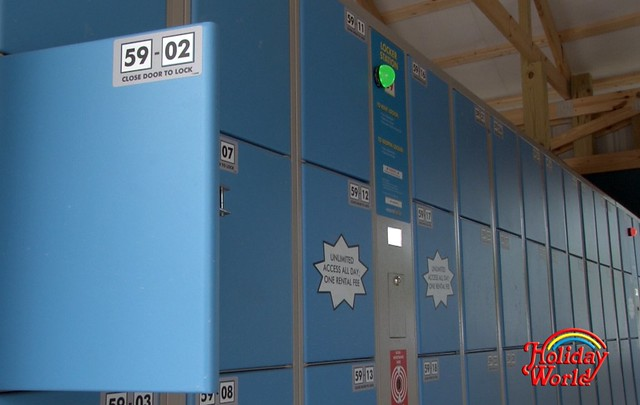 New lockers