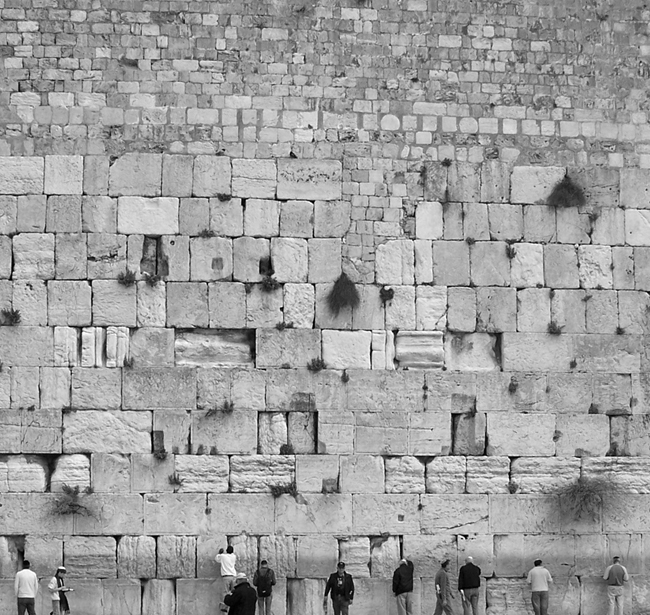 The Kotel in Jerusalem