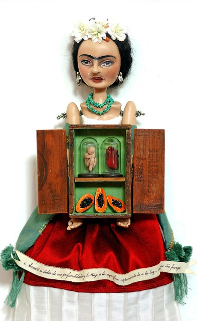Frida Art Doll,2010