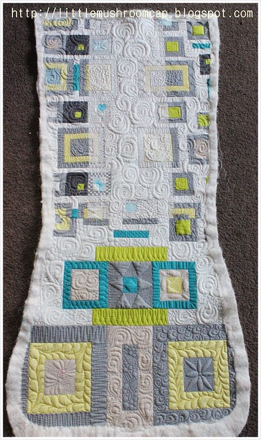 Quilted_Free motion Quilting_Angela walter Panel
