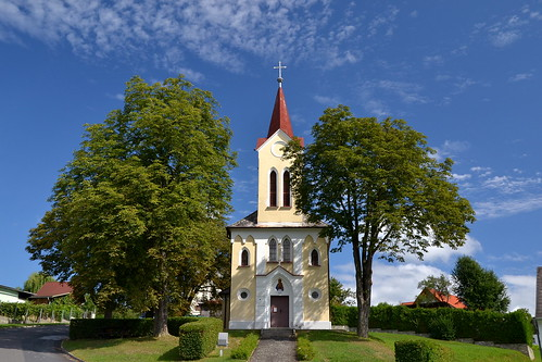 The little church of Heiligenkreuz im Lafnitztal