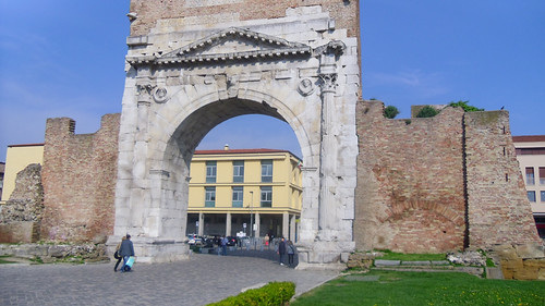 Arco d'Augusto 16-4-13  Rimini