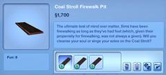 Coal Stroll Firewalk Pit