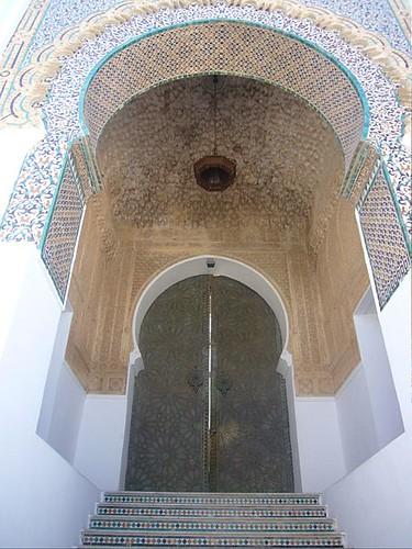 Puerta Mezquita sidi Abu Madyan