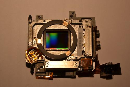 Olympus E510 MOS Image Sensor