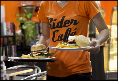 Rider Cafe, Phuket Town - Burgers Coming!