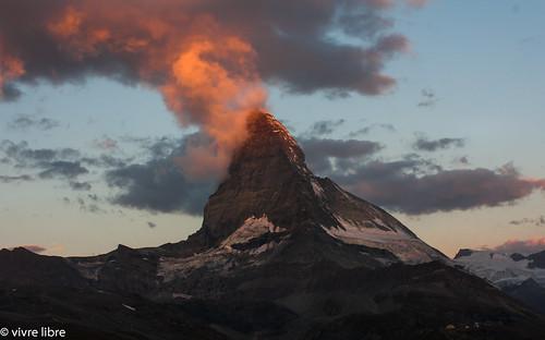 Sunrise at Matterhorn