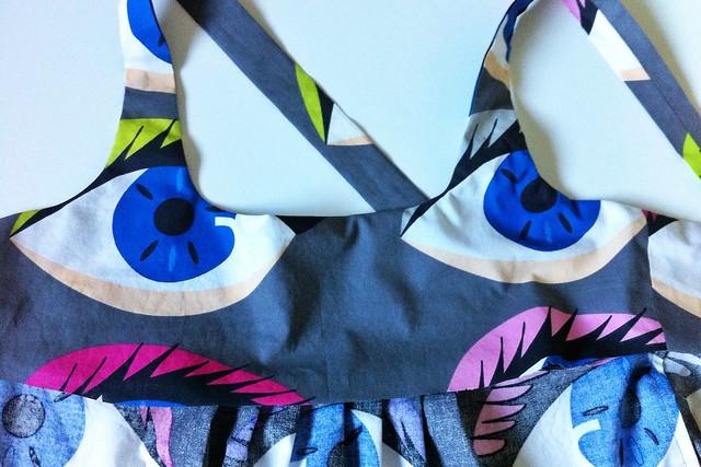 Eye Dress WIP