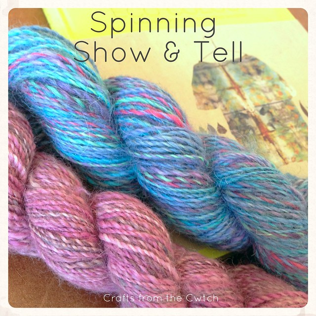 Handspun yarn - Spinning Show & Tell