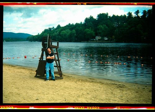 Self-Portrait along Sacandaga Lake, Corinth, N.Y.